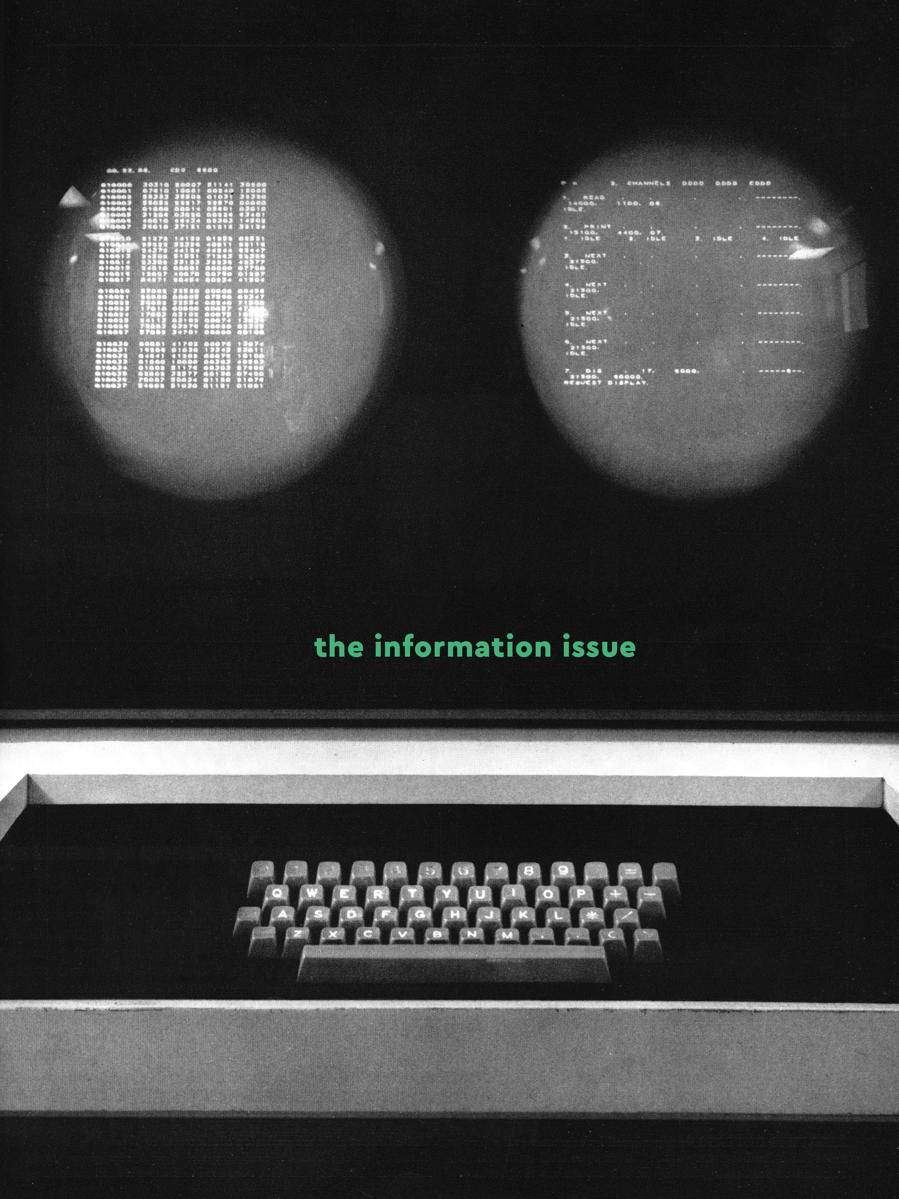 The Information Issue