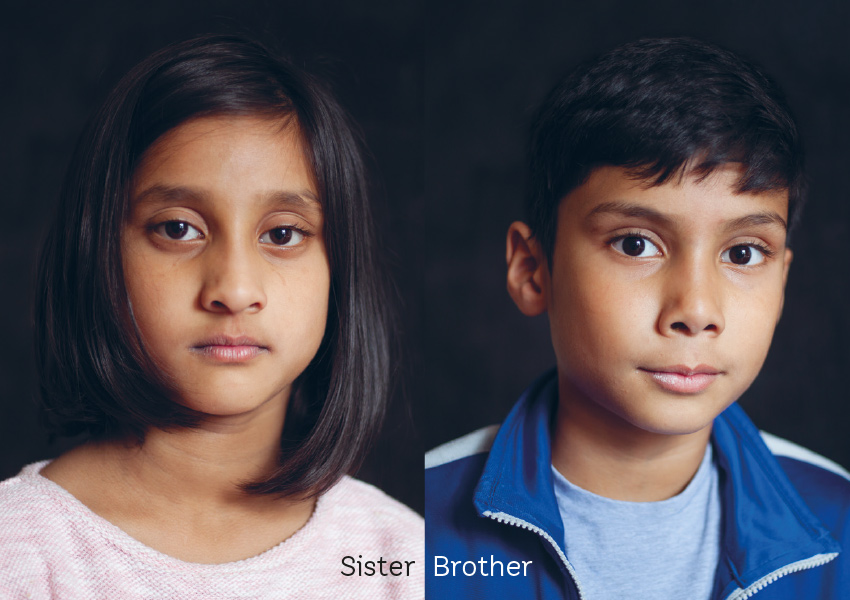Sister, brother